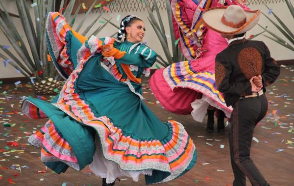 Мексиканский национальный танец харабе