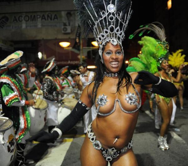 Африканский танец страсти в Уругвае