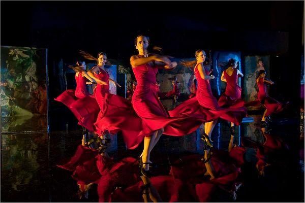Танец с цыганскими корнями