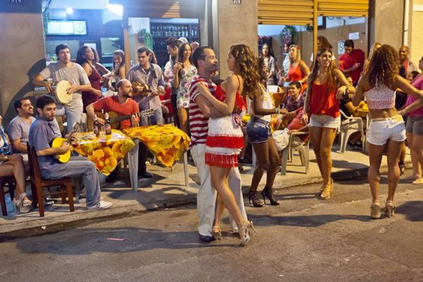 Бразильские танцы - форро
