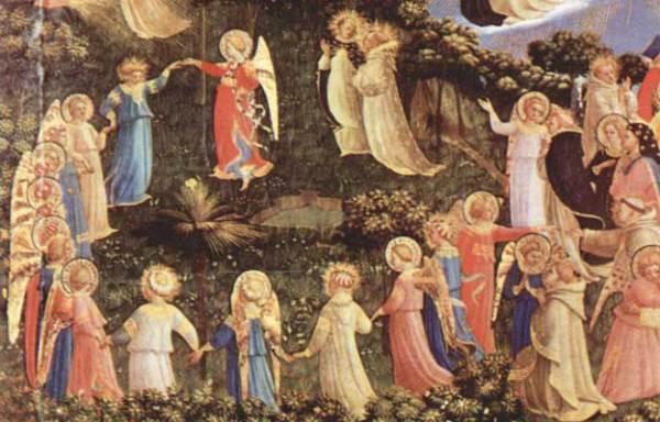 Танец ангелов в кругу
