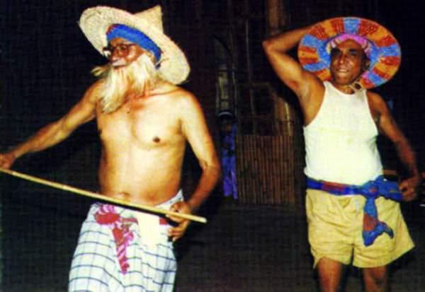 Танец гамбхире