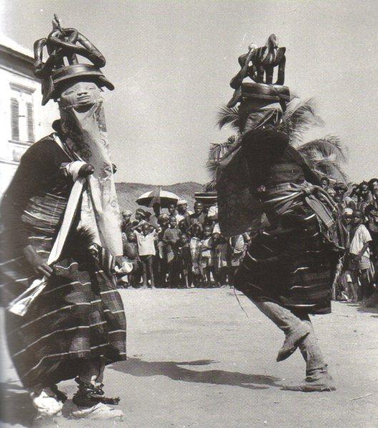 Африканский танец геледе