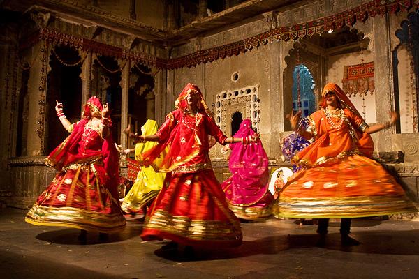 Танцоры из Раджастхана