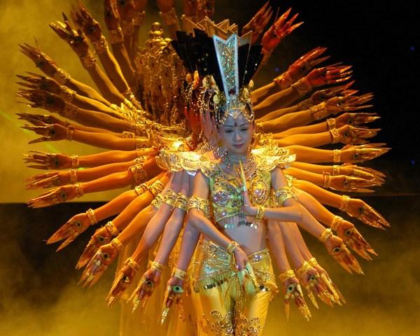 Тысяча рук Гуань Инь: намец просветления и мудрости