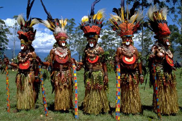 Танцы Меланезии