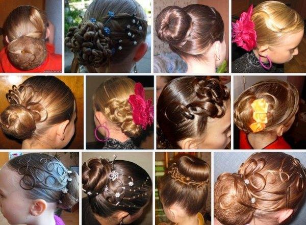 Бальные причёски: феерия фантазии