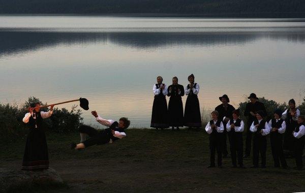 Халлинг - старейший народный танец Северной Европы
