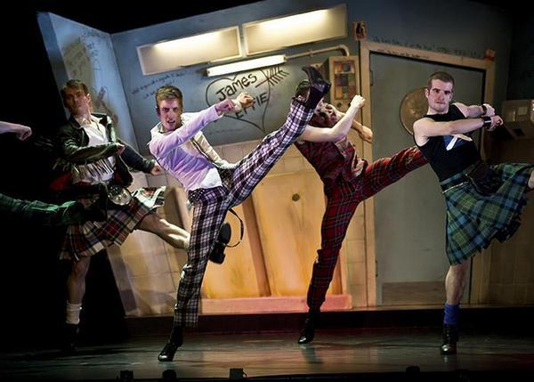 Highland Fling - танец шотландских воинов