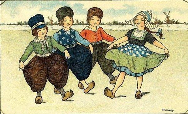 Народные танцы Нидерландов