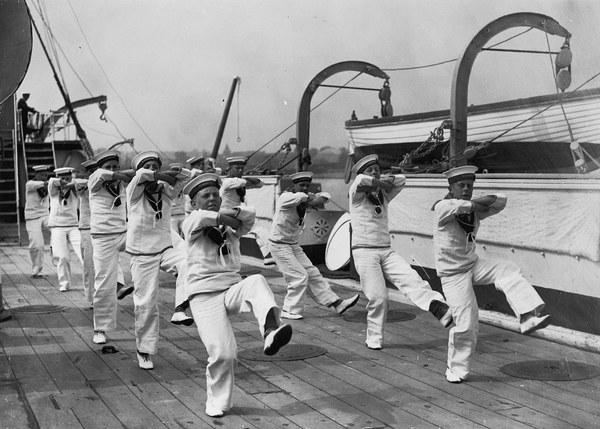 Сольный танец хорнпайп