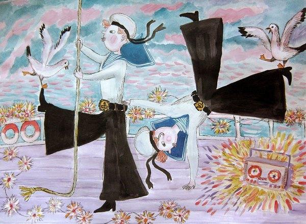 Матросский хорнпайп - одна из форм британского танца