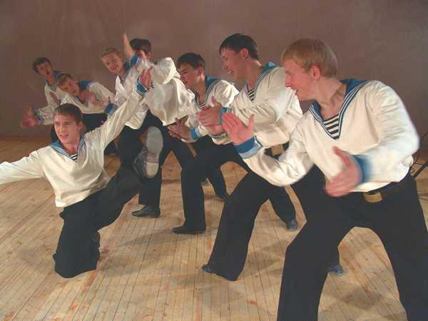 Хорнпайп - зажигательный матросский танец