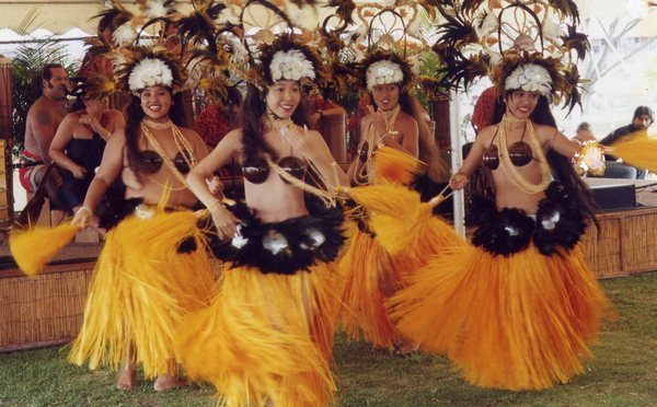 Танец гавайских легенд