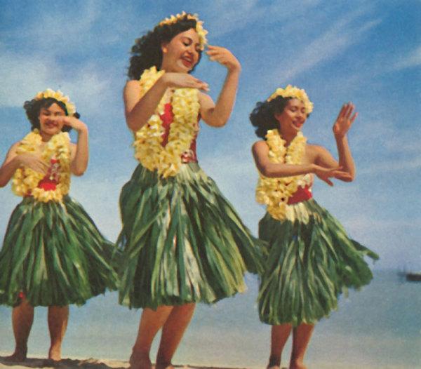 Гавайский танец хула
