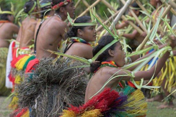 Танцы островов Яп