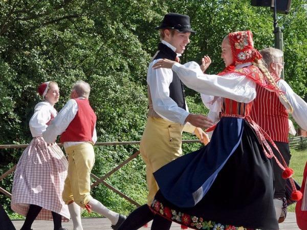 Шведский народный танец