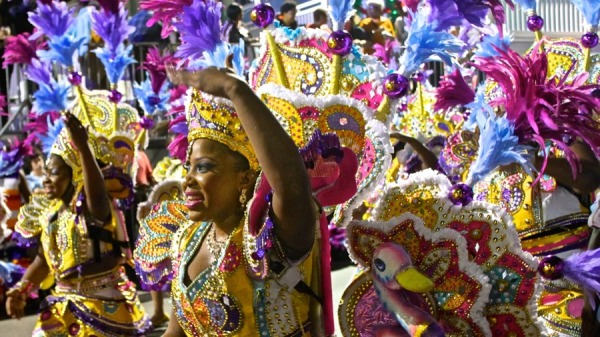Танцевальный карнавал джанкану