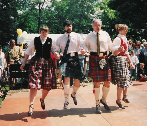 Шотландские кантри-танцы