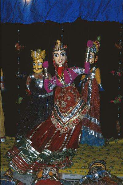 Катпули - кукольный театр Раджастана