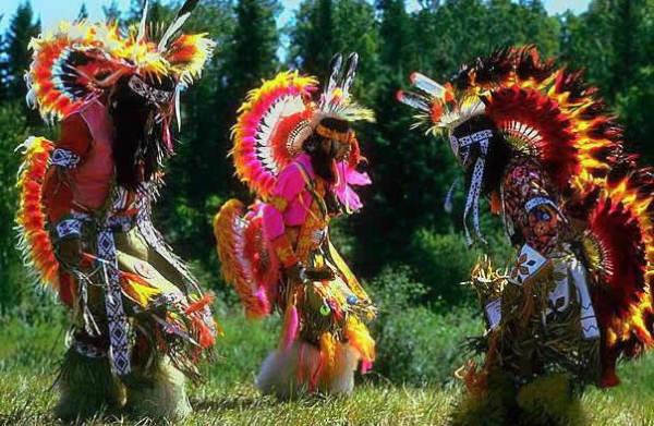 Танцы индейских племен