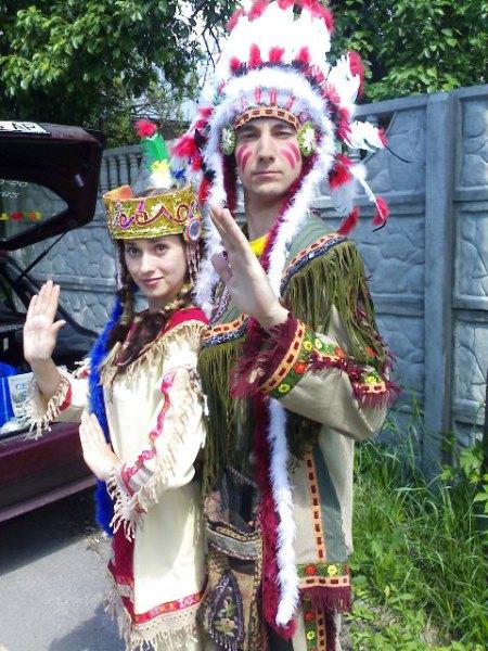 Танец солнца индейцев Северной Америки