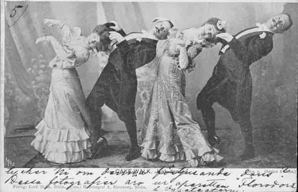 Кейкуок - танец-сатира