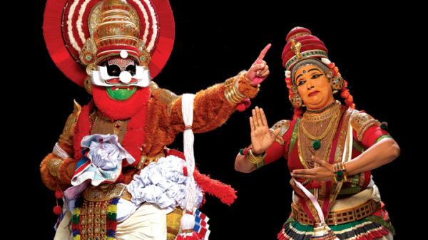 Кутияттам - классическая танцевальная драма индийского штата Керала