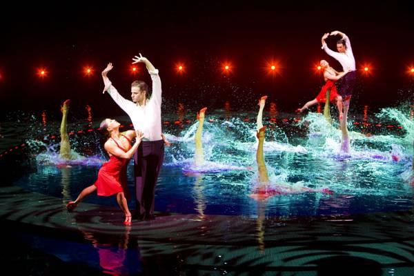 Балетная постановка в  Лас-Вегасе