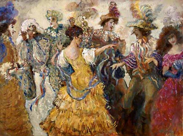 Танец эпохи ренессанса
