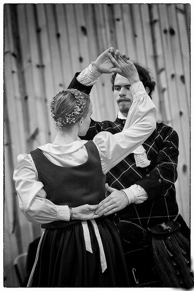 Лендлер танец картинка