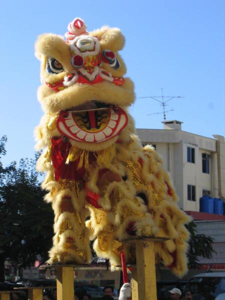 Китайский танец льва