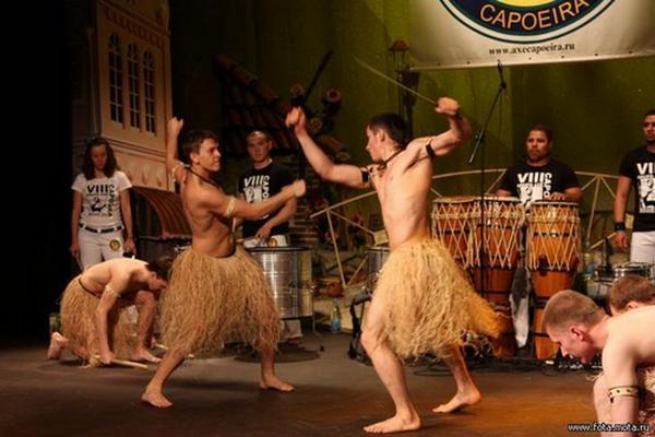 Макулеле - танец борьбы