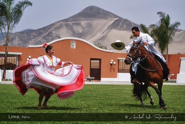 Испанский танец в Перу