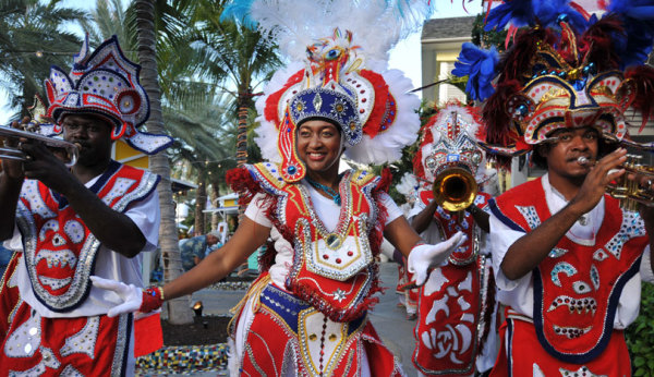 Фестиваль джанкану на Багамах