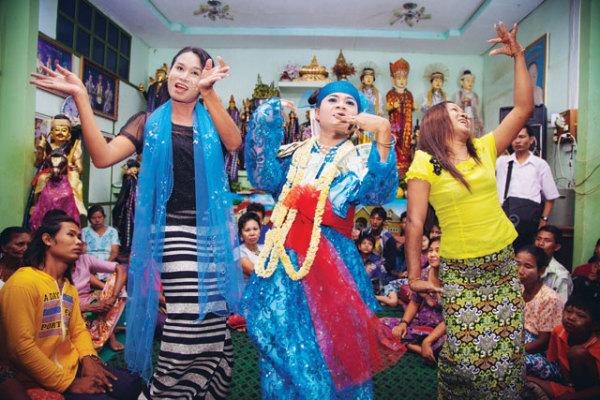Фестиваль нат пве в Мьянме