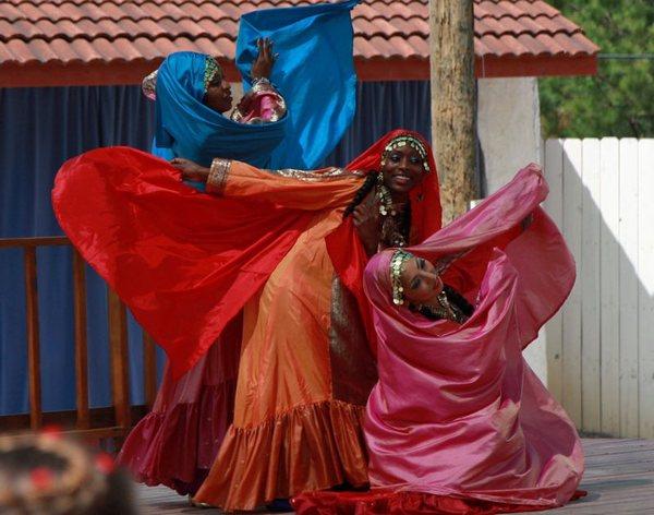 Нубийские танцы