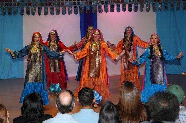 Нубийские танцы - экзотика для европейца