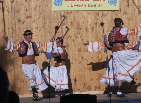 Odzemok - словацкий танец