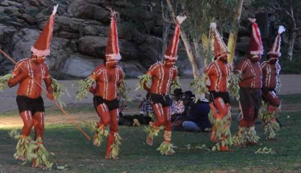 Танцы аборигенов Австралии