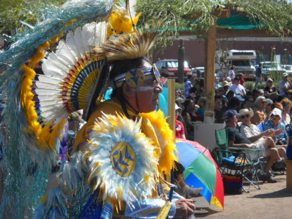Индейские танцы Великих равнин
