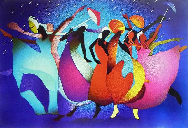 Танцевальный слот Rain Dance: любителям этнических танцев посвящается