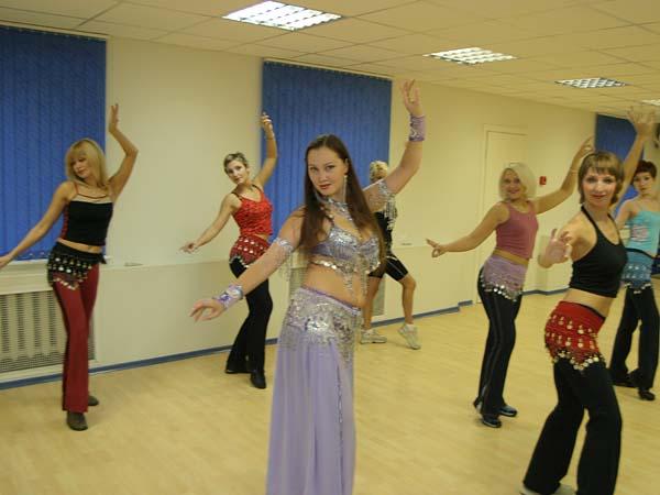 Уроки танца живота - сплошная польза