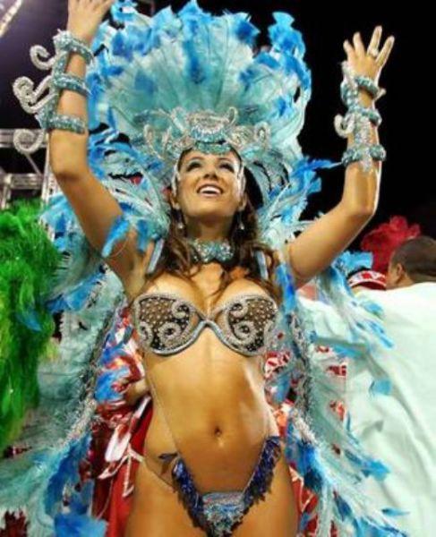 Бразильские танцы - самба