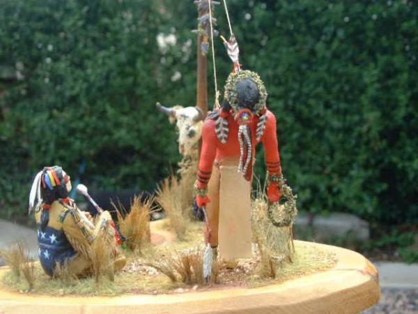 Индейский танец солнца