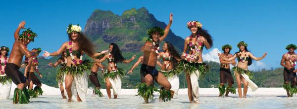 Танцы Французской Полинезии