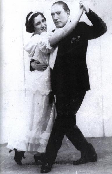 Танцы в Англии в начале 20 века