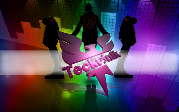 Tecktonik - современный популярный танец