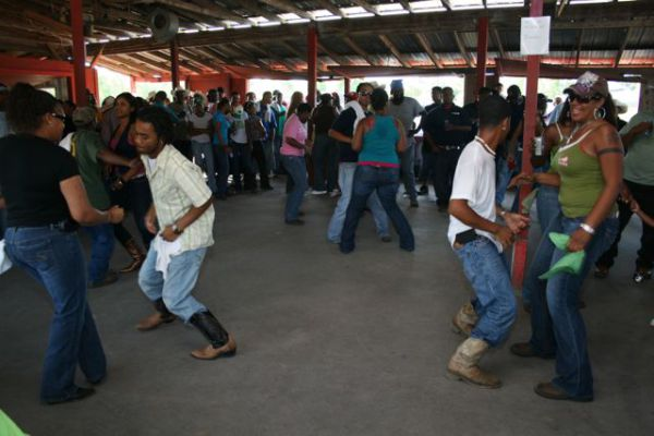 Танец луизианских креолов - Zydeco