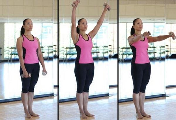 Физические упражнения как составляющая хорошей формы.